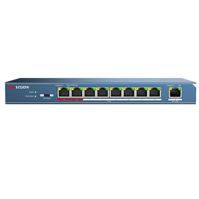 Hikvision DS-3E0109P-E/M  Poe Switch